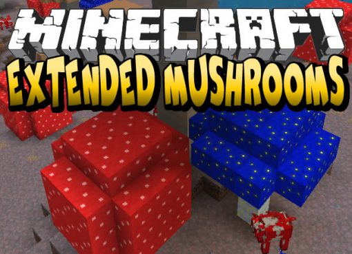 Extended Mushrooms Mod for Minecraft