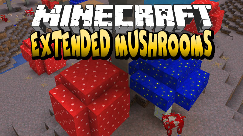 Extended Mushrooms Mod for Minecraft