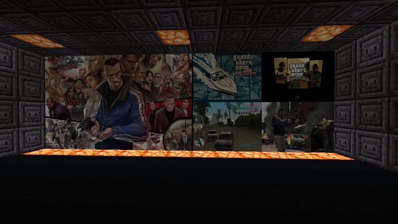 Gaming Paintings Mod Screenshot