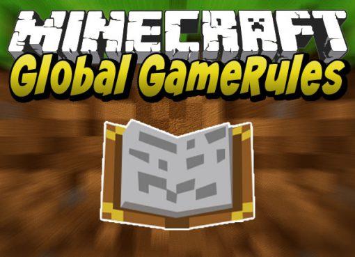 Global GameRules Mod for Minecraft