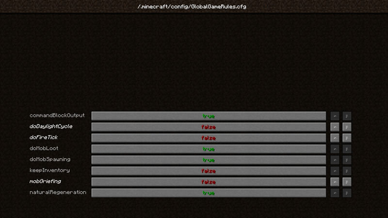 Global GameRules Mod Screenshot 2