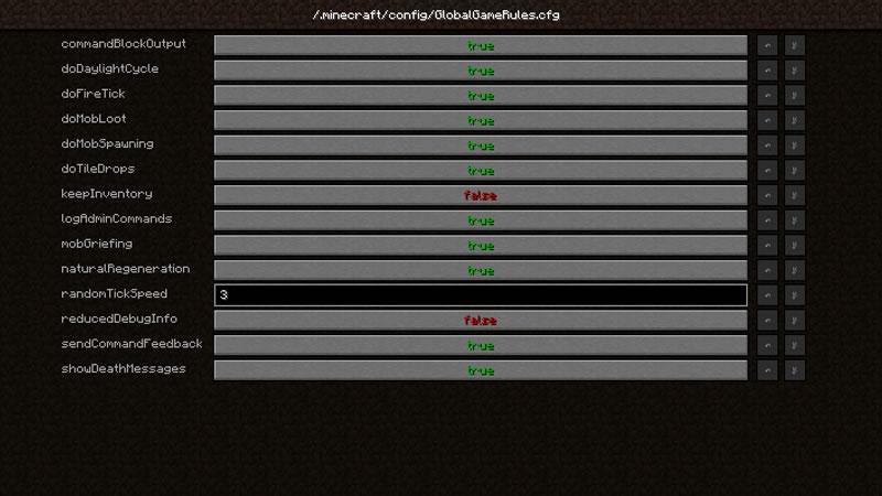 Global GameRules Mod Screenshot 3
