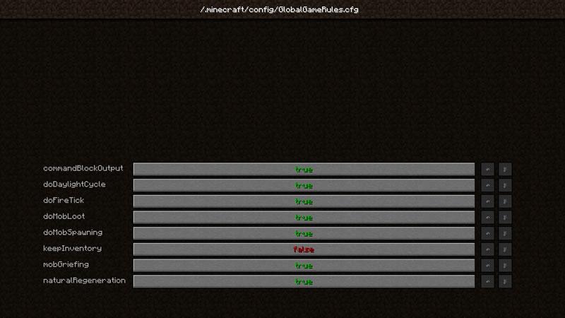 Global GameRules Mod Screenshot