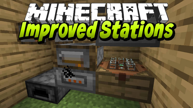 Improved Stations Mods for Minecraft