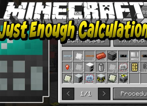 Just Enough Calculation Mod for Minecraft