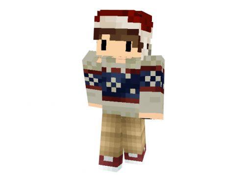 Kibawer Christmas Skin for Minecraft Game
