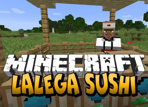 LaLega Sushi Mod for Minecraft