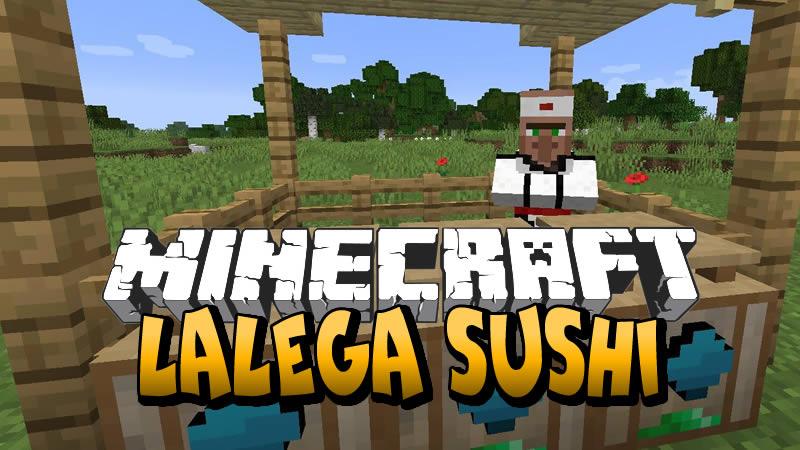 LaLega Sushi Mod for Minecraft