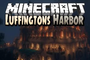 Luffingtons Harbor Map for Minecraft