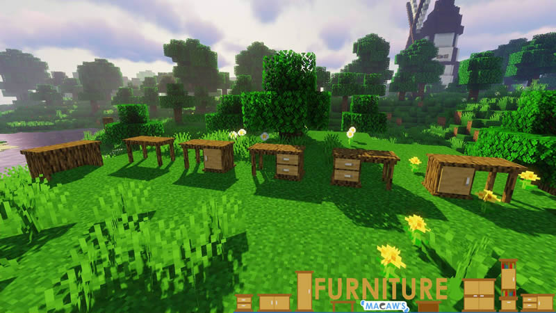 Macaw's Furniture Mod Screenshot 6