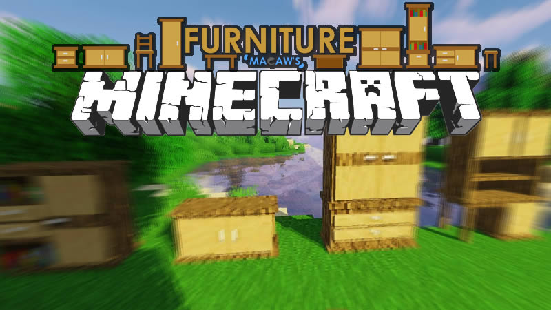 Macaw's Furniture Mod for Minecraft
