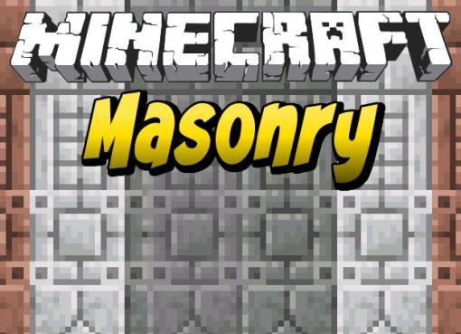 Masonry Mod for Minecraft