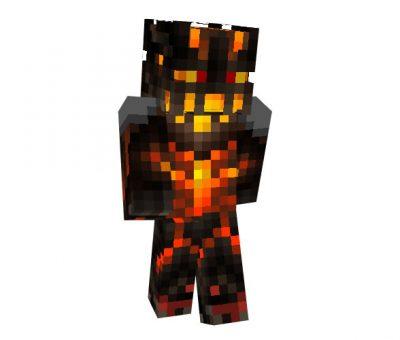 Nether Warrior Skin for Minecraft