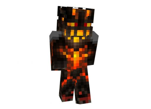 Nether Warrior Skin for Minecraft