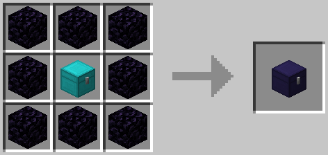 Obsidian Chest Crafting Recipe