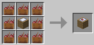 Repurpose Mod Beet Bunch to Crate Crafting Recipe