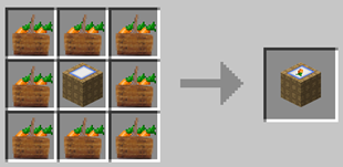 Repurpose Mod Carrot Bunch to Crate Crafting Recipe