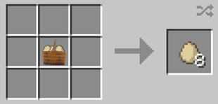 Repurpose Mod Clutch of Eggs to Eggs Crafting Recipe