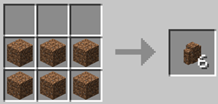 Repurpose Mod Dirt Wall Crafting Recipe