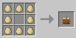 Repurpose Mod Eggs to Clutch of Eggs Crafting Recipe