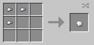 Repurpose Mod Iron Lump Crafting Recipe
