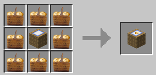 Repurpose Mod Potato Bunch to Crate Crafting Recipe