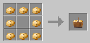 Repurpose Mod Potatoes to Bunch Crafting Recipe