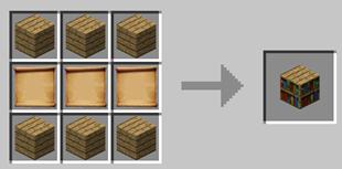 Repurpose Mod Scroll Bookshelf Crafting Recipe