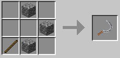 Repurpose Mod Sickle Stone Crafting Recipe