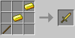 Repurpose Mod Swift Blade Gold Crafting Recipe