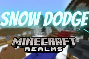 Snow Dodge Map for Minecraft