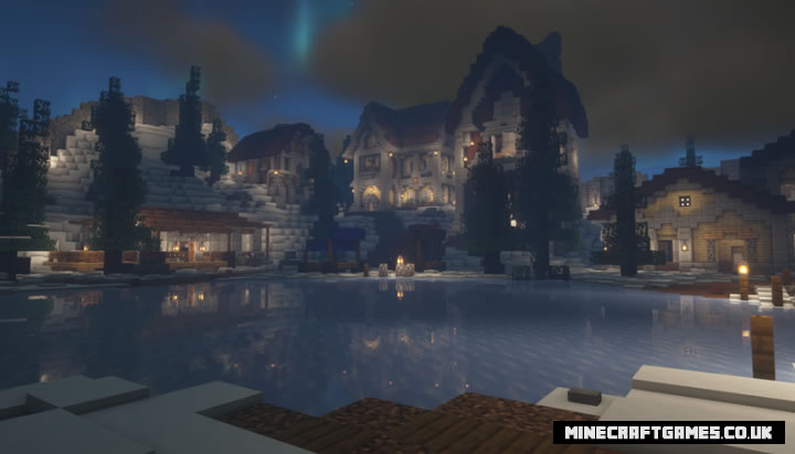 Snow Dodge Map Screenshot 2
