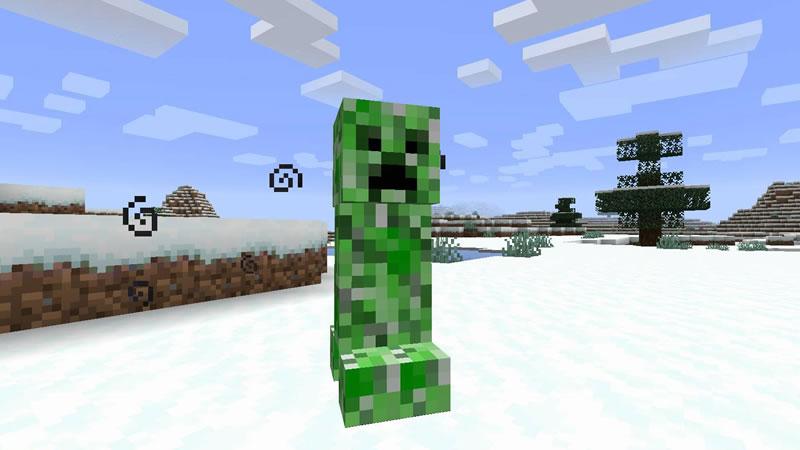 Snowballs Freeze Mobs Mod Screenshot