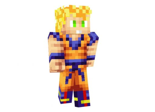 Son Goku (Dragon Ball) Skin for Minecraft