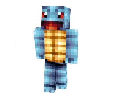 Squirtle (Pokemon) Skin for Minecraft