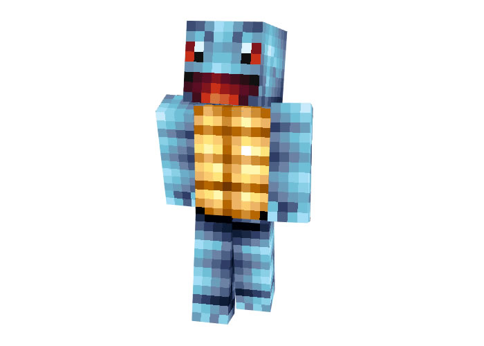 Squirtle (Pokemon) Skin for Minecraft