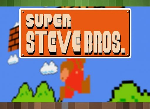 Super Steve Bros Map for Minecraft