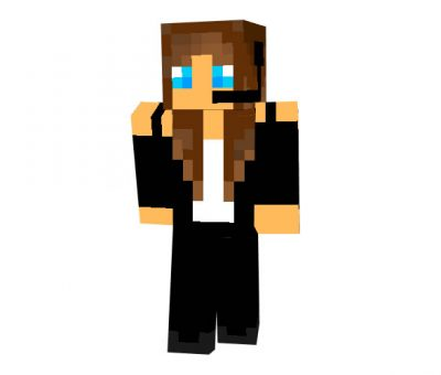TV Reporter Skin for Minecraft Game