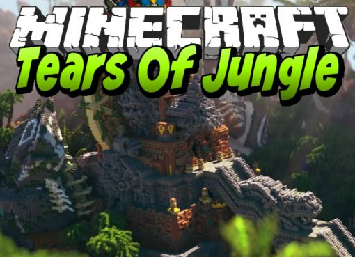 Tears Of Jungle Map for Minecraft