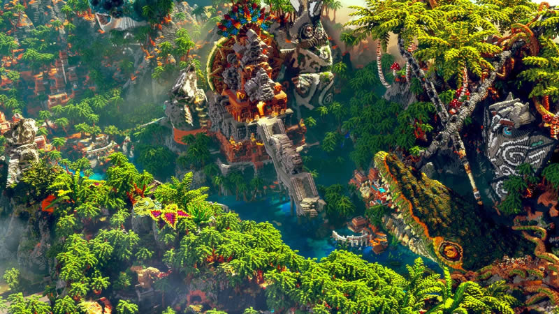 Tears Of Jungle Map Screenshot 2