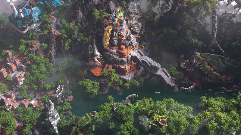 Tears Of Jungle Map Screenshot 3