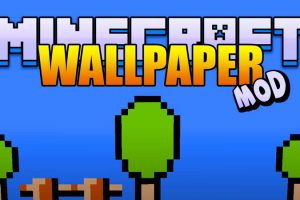Wallpaper Mod for Minecraft