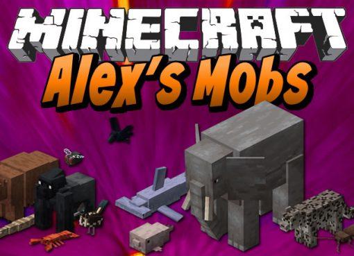 Alex's Mobs Mod for Minecraft