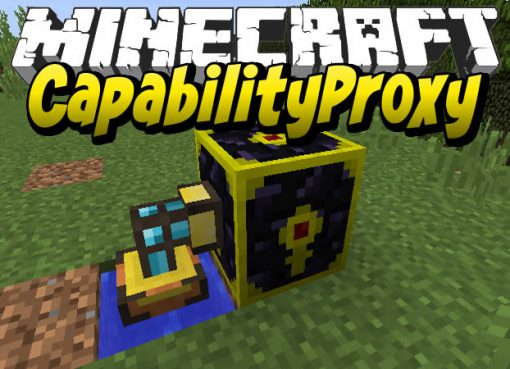 CapabilityProxy Mod for Minecraft