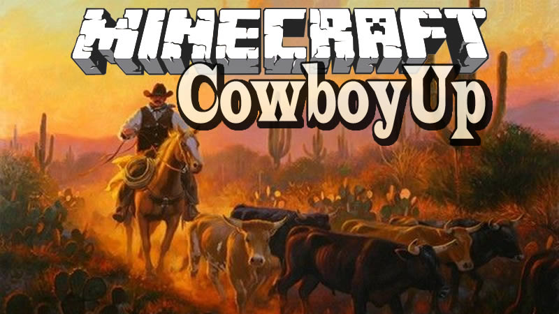 CowboyUp Mod for Minecraft