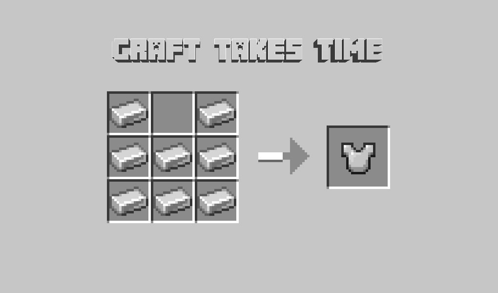 Craft Takes Time Mod for Minecraft