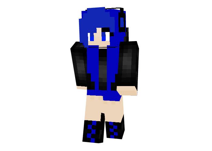Debora Minecraft Skin for Girl