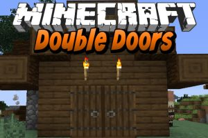 Double Doors Mod for Minecraft