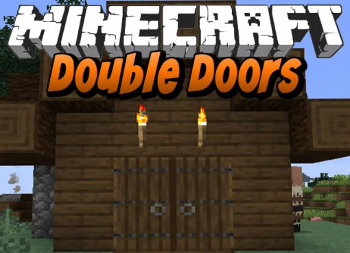 Double Doors Mod for Minecraft