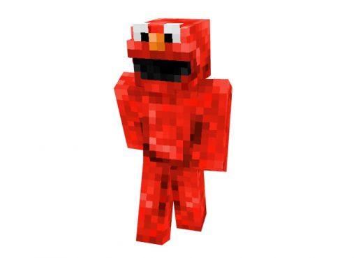 Elmo (Sesame Street) Skin for Minecraft